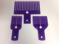 Crafting Bow Makers,set Of 3,small,medium,large,made In The Uk,new,purple.