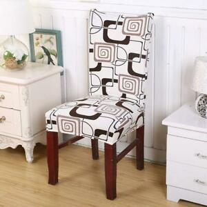 1pc Chair Cover Chair Computer Fashion Office New Home Decor Elastic Package CH