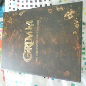 GRIMM THE COMPLETE SERIES BLURAY DVD BOXED SET