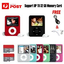 """Up To 32GB iPod Style 1.8"""" LCD MP3 MP4 Music Video Media Player With FM Radio"""