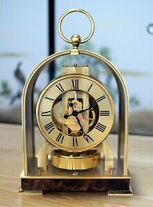 Jaeger LeCoultre Atmos Clock New Born Mantel or Desk