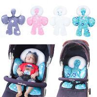 Baby Newborn Car Seat Stroller Cushion Pad Liner Head Body Support Pillow Mat 8