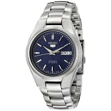 Seiko Men's 5 Automatic SNK603K Blue Stainless-Steel Automatic Fashion Watch