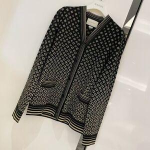 Gucci unisex stylish black cardigan, Size S