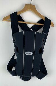 BABYBJORN Baby Carrier Original Mini Blue 8-25 lb Cotton Newborn Adjustable