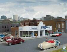 More details for walthers cornerstone 933-3490 vintage ford auto dealership kit