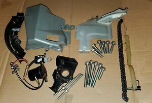 Used Subaru EX21 7hp - Cylinder Head Bolt Set - Timing Chain guides - Oil sensor