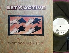 Let's Active ORIG US LP Every dog has it's day NM '89 Mitch Easter REM Alt Rock
