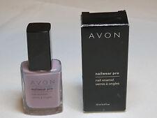 Avon NailWear Pro Nail Enamel Luxe Lavender N238 0.4 fl oz polish mani pedi;;
