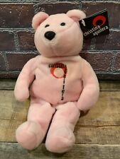 "Limited Edition Christina Aguilera Pink 9"" Teddy Bear New 1969 of 15k"