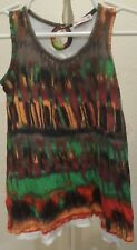 ELLA MOSS multicolored JERSEY KNIT DRESS 3-6 month or tanktop tunic 12-18 months