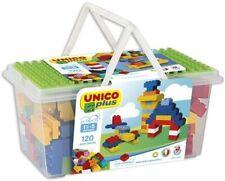 Konstruktionsspielzeug Bauspielzeug Unico Bauklötze Bausteine Plastik  B-WARE