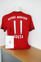 Bayern München Trikot, Costa signiert, Autogramm, Fußball, Bundesliga, FCB Gr. L