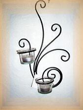 Wand-Teelichthalter PISA  Wandleuchter Teelicht Kerzenhalter Kerzenständer  NEU