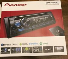 NEW Pioneer DEH-S4120BT Single 1 DIN CD MP3 Player Bluetooth MIXTRAX USB AUX
