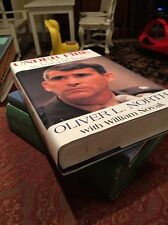 Signed by OLIVER NORTH & Novak First Edition Under Fire Hardcover w/ Dust Jacket
