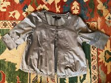 Mossimo Kids Girl's Size XL 14-16 Silver Jacket