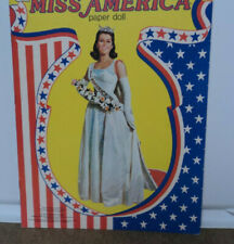 1979 MISS AMERICA PAPER DOLL BOOK COMPLETE AND UNCUT!