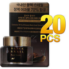 Holika Holika Black Snail Repair Cream 20pcs 20ml Whitening Anti-Wrinkle Newest