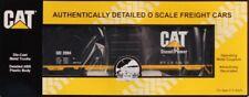 MTH O Gauge Caterpillar CAT #2004 Diesel Power 40' Single Boxcar #20-93178U