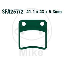 COPPIA PASTIGLIE EBC SFA257/2 732.33.55 HONDA 700 NC DC Integra 2012-2013