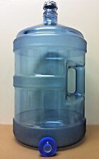 5 Gallon Reusable Polycarbonate Plastic Water  Bottle & No Spill Cap MADE IN USA
