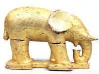 Arte Africano Arti Primo - Antico Elefante Fetish Di Adorazione Baule - 22 CMS