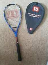Wilson Racket TI POWER Titanium With Case