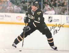 Mike Modano signed 11x14 Photo JSA Hockey Dallas Stars HOF B186
