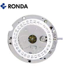 Harley Ronda 3875 Quartz Watch Movement 1 Jewel, 3 Hands, Date at 3 - NEW