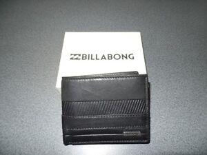 Original - BILLABONG - Wallet  Phoenix Snap - schwarz - NEU