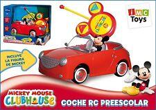 Disney Mickey Mouse RC IR Radio Remote Control Car Boys Ages 3+ New Toy Race Fun