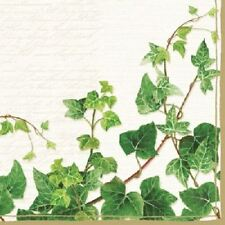 4 x Paper Napkins - Ivy - Ideal for Decoupage / Napkin Art