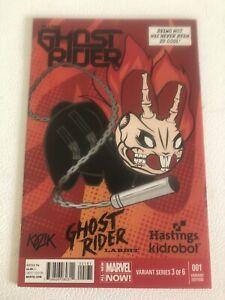 Ghost Rider 1 Hastings Kidrobot Variant HTF 3 of 6 Robbie Reyes CGC CBCS It!