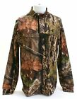 Under Armour UA Coldgear Mossy Oak Break up Country 1/4 Zip LS Hunting Shirt MED