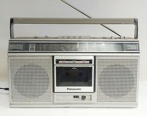 VINTAGE PANASONIC RX-5020L GHETTO BLASTER BOOMBOX WITH AUX RARE - MADE IN JAPAN