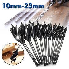 11Pcs 4 Cutter Fast Cut Wood Auger Drill Bit Tool Set High-carbon   AB