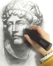 Premium Ohuhu Electric Eraser Kit with 20 Pcs Eraser Refills Battery Operated