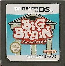NINTENDO DS BIG BRAIN ACADEMY GAME CARTRIDGE ONLY