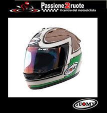 Casco integrale moto Suomy excel italia italy helmet helm casque