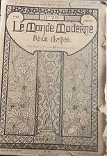 Le Monde Moderne. Revue 15 janvier 1902. Costume militaire français, Sèvre.