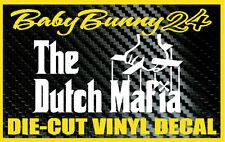 The Dutch MAFIA Pride Godfather Car Truck Laptop Decal Vinyl Sticker