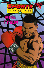SPORTS SUPERSTARS COMICS: MIKE TYSON NUMBER 5 AUGUST 1992 FIRST PRINTING BOXING