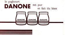 Buvard  Danone le Yoghourt