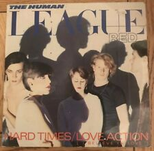 """The Human League- Red- Hard Times/ Love Action- 12"""" Vinyl Record Single"""