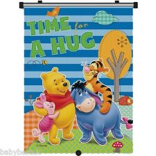 Disney Winnie the Pooh Car Window UV Protection Roller Blind Sun Shade - Single