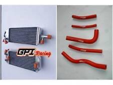 Aluminum  Radiator+hose Fit Suzuki RM125 RM 125 T/V 1996 1997 96 97