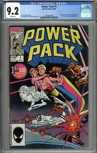 Power Pack #1 CGC 9.2 NM- Origin & 1st Appearance of Power Pack WHITE PAGES