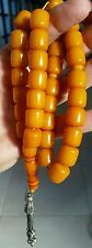 AMBER KEHRIBAR PRAYER BEADS, 33 ORIGINAL BEADS