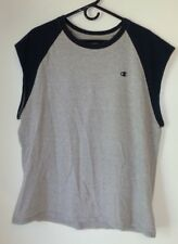 Men's Shirt,Champion,Size XL,Gray-Blue,Sleeveless,T-Shirt,Women